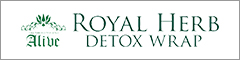 royalherb DETOX WRAPバナー